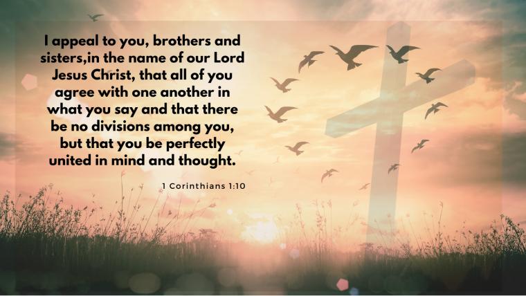 1 Corinthians 1:10-17 – Messy Church: United Church